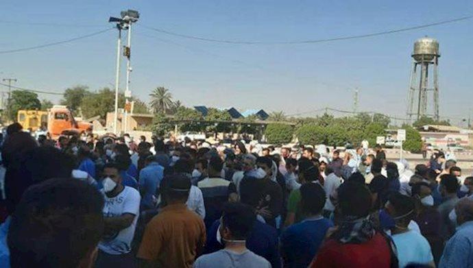 پانزدهمین روز اعتصاب کارگران نیشکر هفتتپه