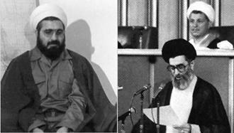 خامنهای ولی فقیه ارتجاع - آخوند روحانی  رئیس جمهور ورشکسته