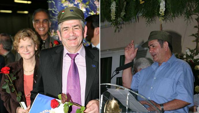 درگذشت مانوئل ریسکز یار وفادار مقاومت ایران و اشرفیها