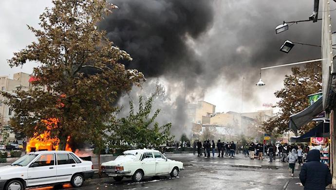 قیام ایران - آبان۹۸
