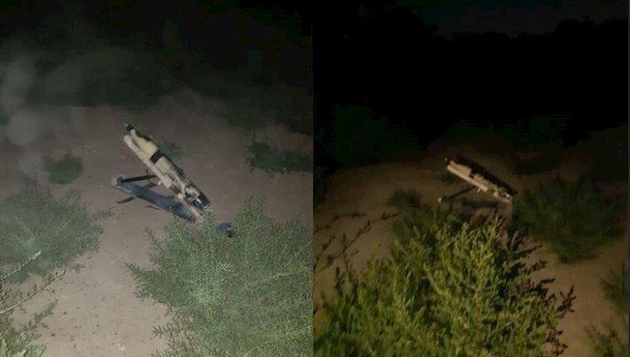 یک فرودگاه نظامی در بغداد هدف حمله موشکی قرار گرفت