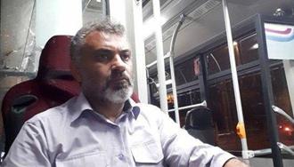 رسول طالب مقدم از رانندگان شرکت واحد اتوبوسرانی