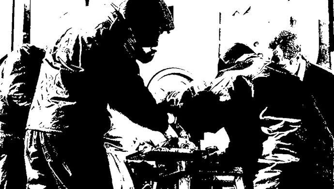 اقدام ضدانسانی قطع دست در رژیم آخوندی- عکس از آرشیو