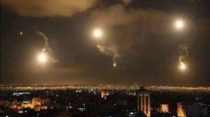 حمله هوایی به مرکز وابسته به رژیم ایران در  سوریه