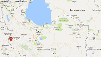 زمینلرزه ۵ریشتر ی حوالی صالح آباد در استان ایلام