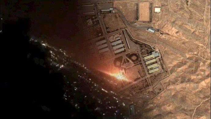 انفجار بزرگ در نزدیکی سایت نظامی پارچین