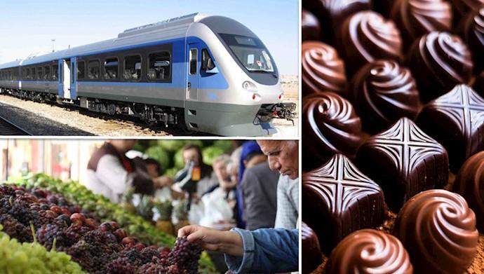 افزایش بی سر و صدای قیمت میوه، شیرینی، شکلات و قطار