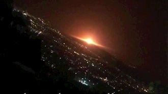 انفجار در شرق تهران