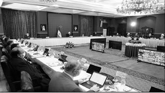 جلسه به اصطلاح ستاد ملی مبارزه با کرونا