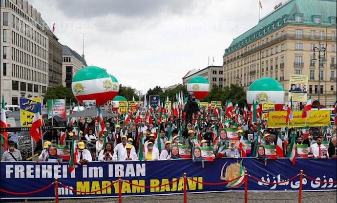گردهمایی جهانی ایران آزاد - ۲۷تیرماه۱۳۹۹- آلمان - براندنبورگ - 7