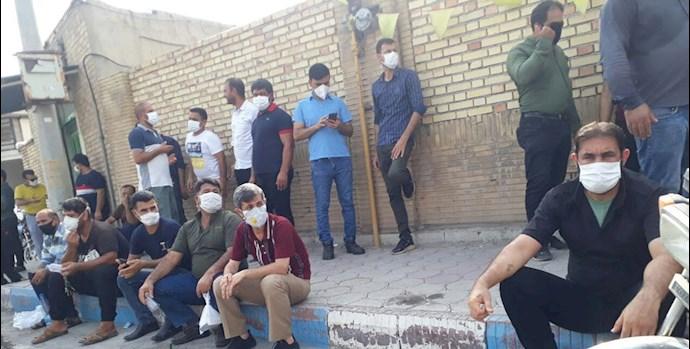 چهل و یکمین روز اعتصاب کارگران نیشکر هفتتپه - 0