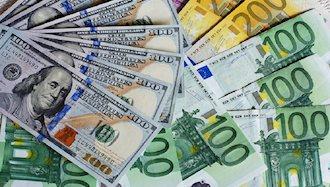 بالا رفتن قیمت دلار  و یورو