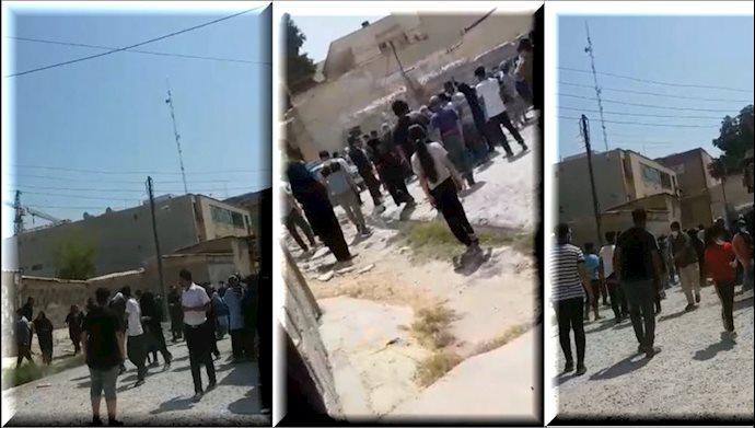 تخریب خانهها و درگیر مردم با انتظامی در بوشهر