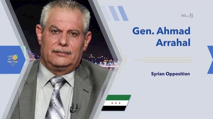 سرتیپ ستاد احمد رحال اپوزیسیون سوریه