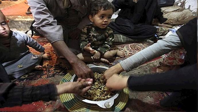وضعیت تغذیه در حکومت آخوندی