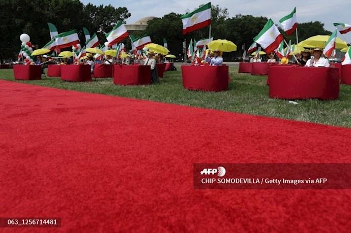 گردهمایی جهانی ایران آزاد - ۲۷تیرماه۱۳۹۹- واشنگتن - 9