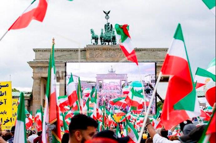 گردهمایی جهانی ایران آزاد - ۲۷تیرماه۱۳۹۹- آلمان - برلین - 1