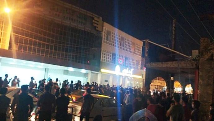 تظاهرات مردم بهبهان