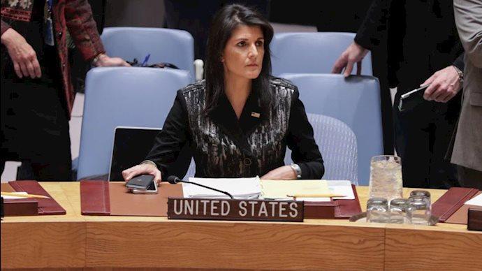 نیکی هیلی سفیر  سابق آمریکا در سازمان مللمتحد