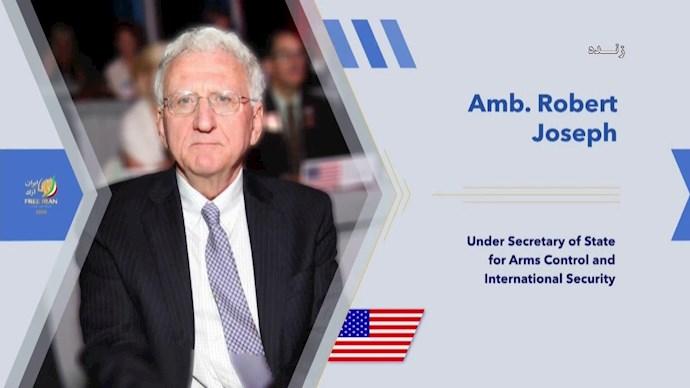 سفیر رابرت جوزف معاون پیشین وزیر امور خارجه آمریکا