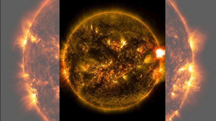 تغییر و تحول ۱۰ساله خورشید
