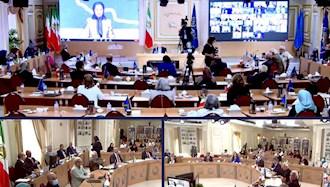 اجلاس سه روزه شورای ملی مقاومت ایران بهمناسبت آغاز چهلمین سال تأسیس شورا - ۲مرداد۹۹