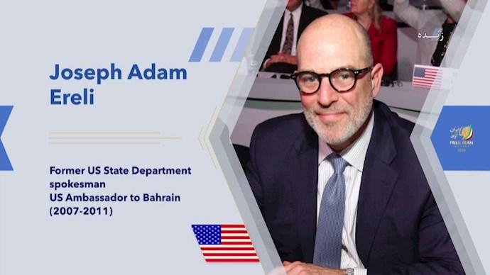 سفیر آدام ارلی ـ سفیر پیشین آمریکا در بحرین
