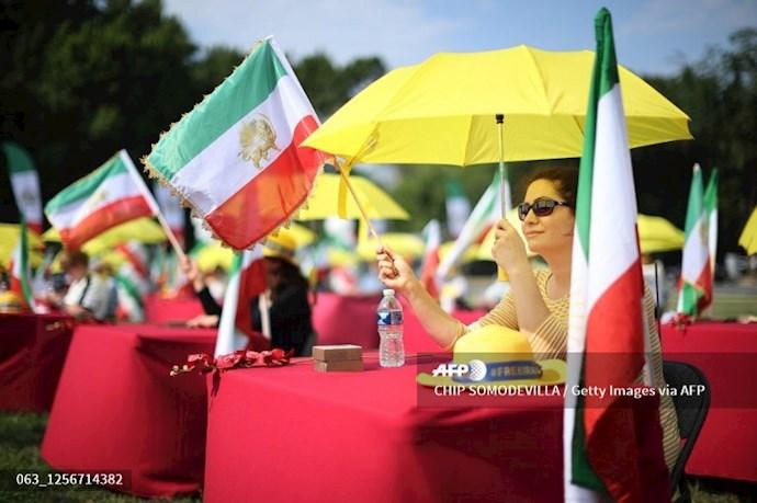 گردهمایی جهانی ایران آزاد - ۲۷تیرماه۱۳۹۹- واشنگتن - 5
