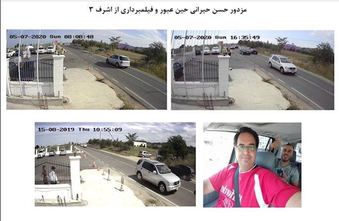 تحرکات مزدوران اطلاعات آخوندها در اطراف اشرف۳