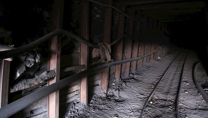 ریزش معدن - عکس از آرشیو