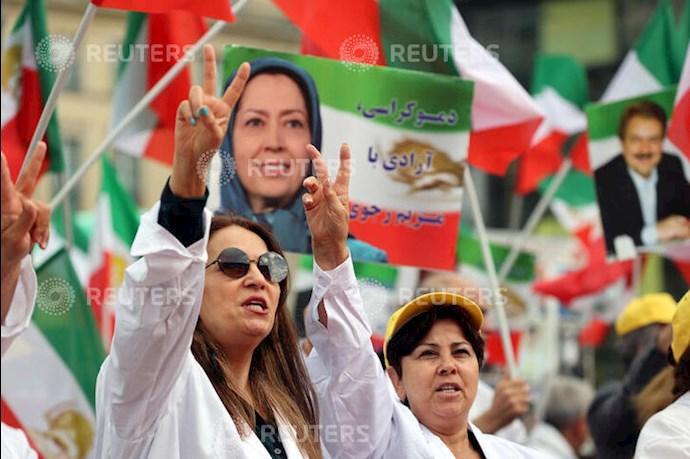 گردهمایی جهانی ایران آزاد - ۲۷تیرماه۱۳۹۹- آلمان - براندنبورگ - 5