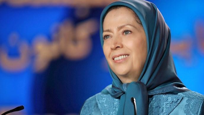 مریم رجوی: گردهمآیی امروز، میهن اسیر را در سهسیمای خجستهاش نمایندگی میکند: ایران شورشگر و انقلابی، ایران همبسته و متحد، و ایران آزاد و دموکراتیک فردا.