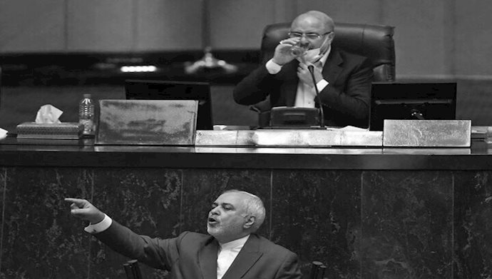 محمد جواد ظریف در مجلس ارتجاع