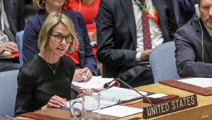 کلی کرفت سفیر آمریکا در سازمان ملل متحد
