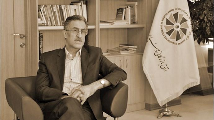 مسعود خوانساری رئيس اتاق بازرگانی رژیم در تهران