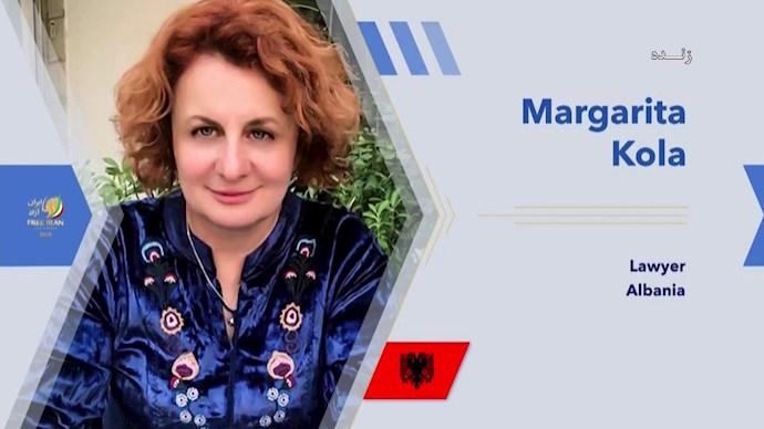 مارگاریتا کولا حقوقدان - آلبانی