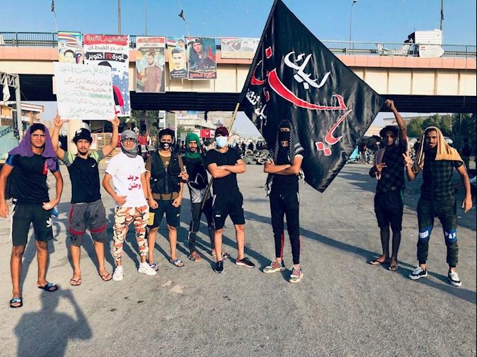 تظاهراًت مردم و جوانان عراق در حله - 0