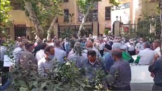 تجمع بازنشستگان اجتماعی اصفهان