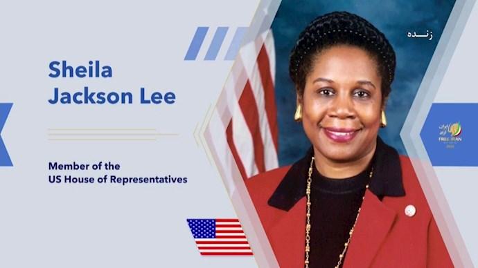 شیلا جکسون لی عضو کمیتههای قضایی و امنیت داخلی کنگره آمریکا