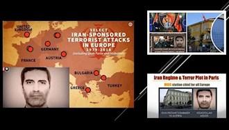 محاکمه اسدالله  اسدی دیپلمات تروریست رژیم ایران در بلژیک