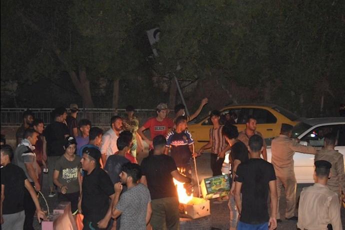 درگیری در عراق،کشته و زخمی شدن تظاهرات کنندگان و آتش زدن چادرهای انقلابیون در میدان تحریر بغداد - 7