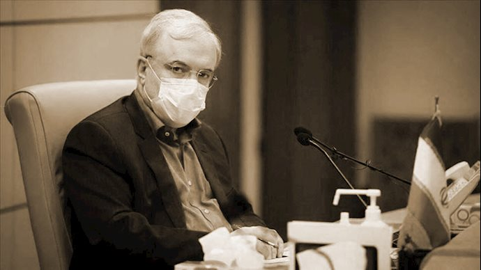 سعید نمکی وزیر بهداشت رژیم