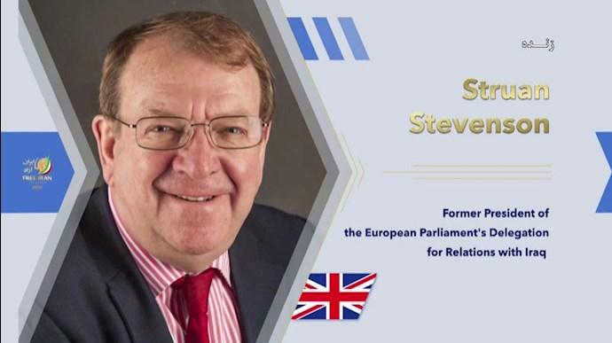 استرون استیونسون - کنفرانس بینالمللی درباره تروریسم رژیم آخوندی