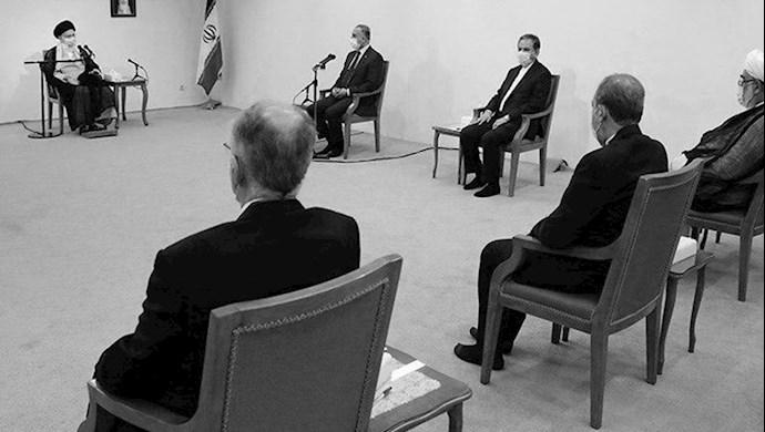 دیدار خامنهای ولی فقیه  ارتجاع با الکاظمی نخست وزیر عراق