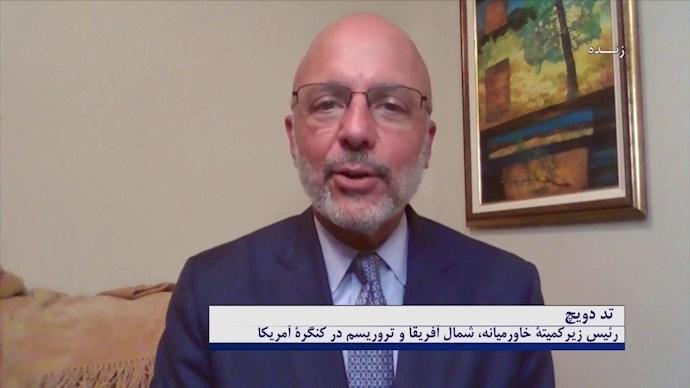 تد دویچ ـ رئیس زیرکمیته خاورمیانه، شمال آفریقا و تروریسم در کنگره آمریکا