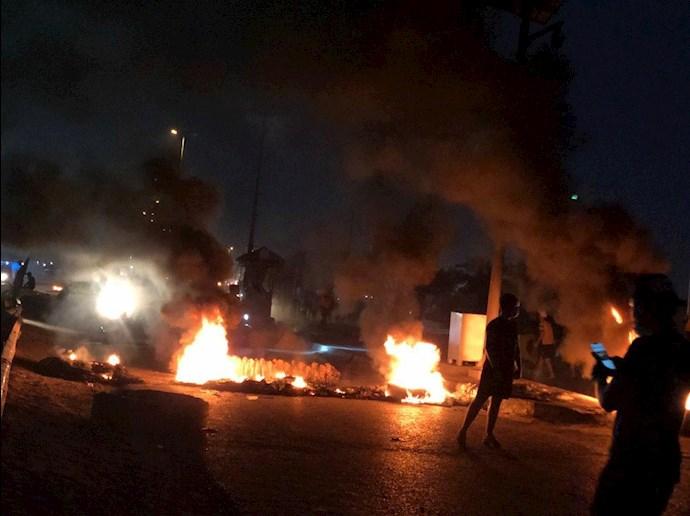 تظاهراًت مردم و جوانان عراق در حله - 7
