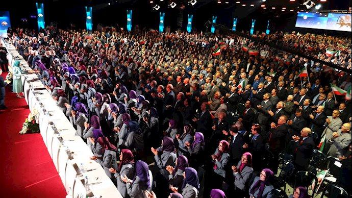 گردهمایی بزرگ مجاهدین در اشرف۳