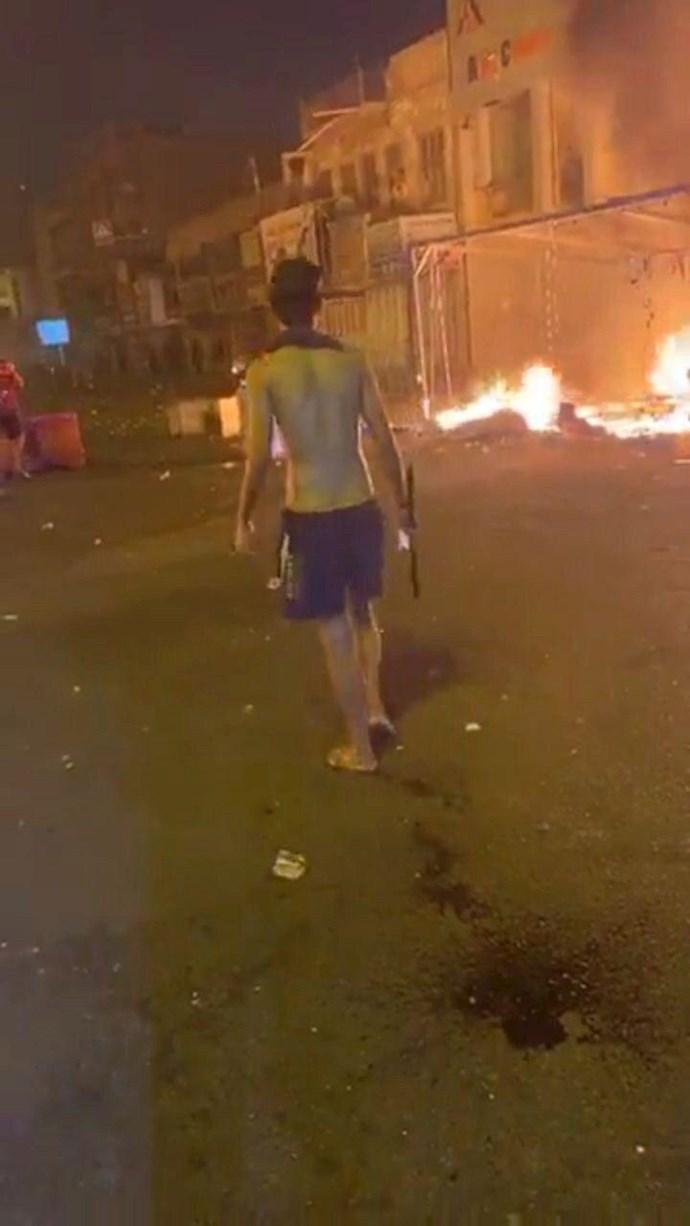 درگیری در عراق،کشته و زخمی شدن تظاهرات کنندگان و آتش زدن چادرهای انقلابیون در میدان تحریر بغداد - 11