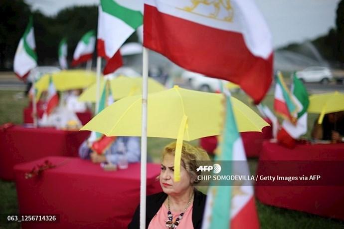 گردهمایی جهانی ایران آزاد - ۲۷تیرماه۱۳۹۹- واشنگتن - 14