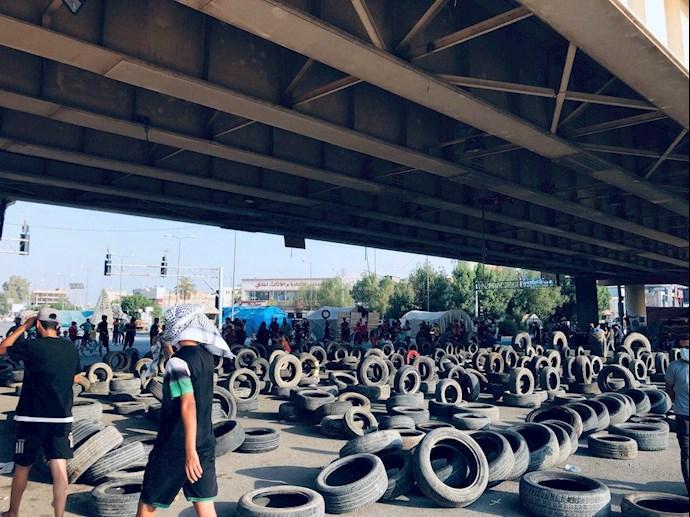 تظاهراًت مردم و جوانان عراق در حله - 8